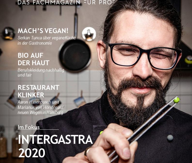 Aktuelle Ausgabe KÜCHE – das Fachmagazin für Profiköche